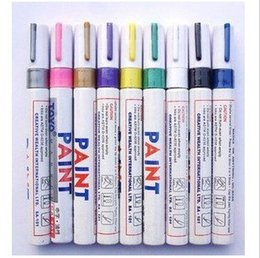 Wholesale oil marker Paint marker pen TOYO SA101 used to write cards for Wedding Thanksgiving for painting on your car bike