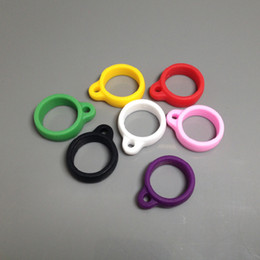 Silicone lanyard O-rings ego Silicon orings necklace colorful o ring clips lanyard for e cig vision spinner ego evod battery vape pen