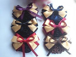 Wholesale 20pcs bowknot professional headdress flower Nurses hairpin bank hair net manufacturers selling NB301