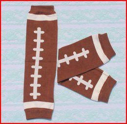Free Shipping Ratail baby boys Football Leg warmers infant legwarmer socks Baby Wear infant Boys Rugby leggings Tights Baby Leg Warmer Melee