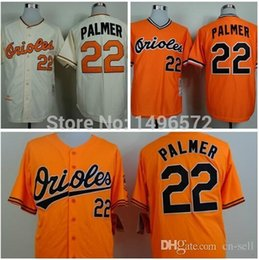 Wholesale 2015 New Baltimore Orioles Jersey Shirt Jim Palmer Jersey ORANGE CREAM THROWBACK Stitched Atlanta Authentic Cool Base Baseball Jersey