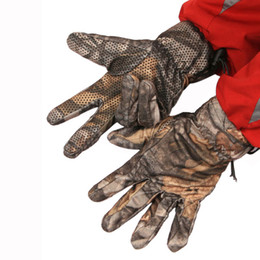 Wholesale-Essential New Fashion Tacttcal Outdoof Climb Slip-Proof Gloves Real Ttre Camo In Sizes Free Shipping Oct16