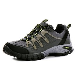 Wholesale-Rax Men Hiking Shoes Men Genuine Leather Hiking Shoes Warm Autumn And Winter Outdoor Sports Shoes Hot Selling #B2296