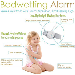 Wholesale Best Bedwetting Alarm to the kids Night Time Moisture Sensor with Sound and Vibration for Potty Training Boys and Girls Easy Solutions Contr