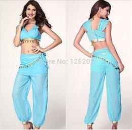 Wholesale Hot Sale New Arrival Aladdin Jasmine Princess Cosplay Costume for Adult Custom