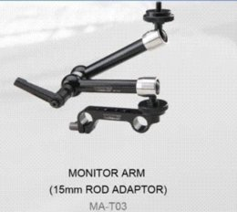 Wholesale TILTA MA T03 Monitor ARM Articulating Magic Arm w Quick Release Clamp for Follow focus mm rod DSLR rig HDMI Monitor