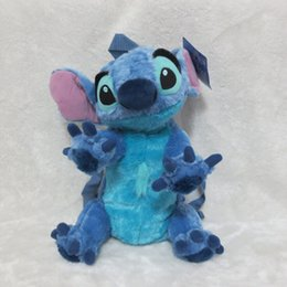 Wholesale-Stitch Plush Backpack From Cartoon Movie Lilo & Stitch 35cm