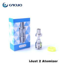 Wholesale Original Eleaf Ijust2 Ecigarette Vaporizer ml ijust Atomizer Tank match Joyetech eVic VT Kanger Kbox mini ADT Xcube II Wismec RX200