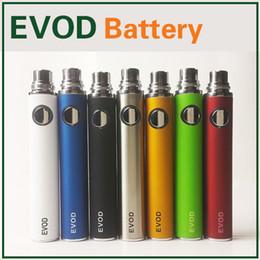 Evod battery 650mah 900mah 1100mah ecig batteries evod rechargeable batteries vaporizer for h2 MT3 CE4 ego Electronic Cigarette e cigarette