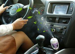 Wholesale Nanum Car Plug Air Humidifier Purifier Vehicular essential oil ultrasonic humidifier Aroma mist car fragrance Diffuser