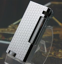 Wholesale S T Memorial Dupont zorr lighter Bright Sound New In Box The new Silver lighter