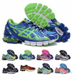 Wholesale 2015 New Asics Gel Blast Running Shoes For Men Women Mesh Surface Fire Ventilation LightWeight Trainer Sneakers Eur