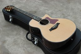 Wholesale OEM handmade classical guitar global popular music instrument CE acoustic guitar with ebony fingerboard and abalone inlay