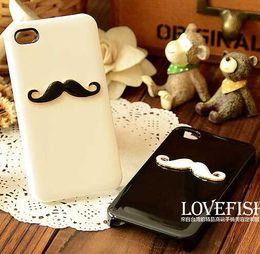 Wholesale phone case Fashion Trend For iphone s plus case cartoon Moustache Hard PC back cover cases for iphone plus s s case