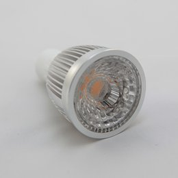 LED COB Spotlight Driverless 7W GU10 1X7W CREE Led Spot Light Bulbs Light Warm Natural Cool White AC220V with CE RoHS