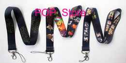 Wholesale Factory direct price Neck Lanyard STAR WARS Photo Lettering Neck LANYARD KEY CHAIN Ring Keychain mixed colors
