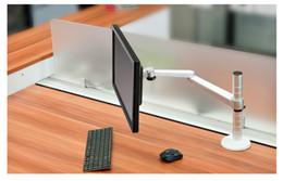 Vesa Desktop Mount 27 Inch lcd Monitor Stand Adjustable Suporte Para Monitor Desktop Stand Folding Monitor Arm Desktop Computer Bracket