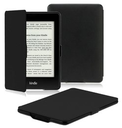 Wholesale Kindle Paperwhite Case Cover The Thinnest and Lightest PU Leather Smart Cover for All New Kindle Paperwhite
