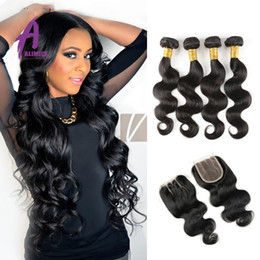 Rosa Hair Products Peruvian Body Wave With Lace Closure King Hair Peruvian Body Wave With Closure Peruvian Virgin Hair Body Wave