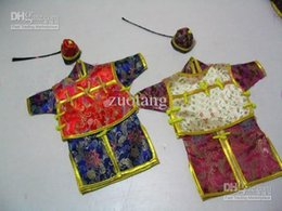 Vintage Chinese style Christmas Wine Bottle Cover Bags Party Table Dinner Decoration Silk Printed Bottle Packaging 10 pcs lot mi