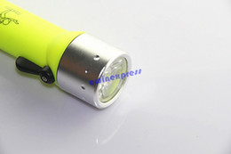 Wholesale New hot sale Professional Underwater Diving scuba Flashlight Torch LED Light Waterproof Lamp for diving lantern diver