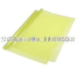 Wholesale x Yellow Slide Binding Spine Bar A4 Test Paper Document File Folders