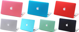 Wholesale Slim Colorful Surface Frosted Hard Cover Case Laptop Cover Case LOGO For Apple Macbook Air Pro Retina