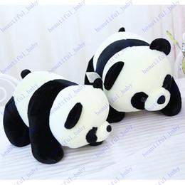 Descuento regalos para los amigos A estrenar felpa juguetes encantadores pandas gigantes envían amigos el mejor regalo de cumpleaños de 60 cm