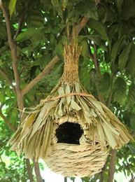 Wholesale Rattan bird cage pet supplies bird feeder garden ornaments bird supplies Birdhouse Nest pet treatment