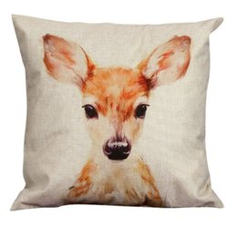 Wholesale-New kungfu Panda Cushion Creative Fashion Linen Pillow Case Pillow Wedding Cushion Case Boys and Girls Gift W1