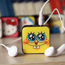 The New Square MP3 Music Player With Card Slot Support Micro SD Card Mini Box MP3 Music Player Support TF Card