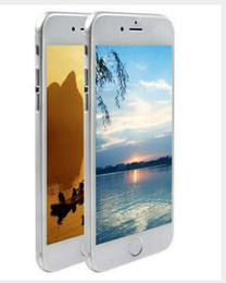 Wholesale unlocked Best Fingerprint Goophone i6s Plus quot MTK6582 Quad Core GB Ram GB Rom HD MP MP G WCDMA GPS wifi Smartphone