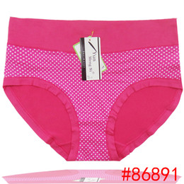 NEW old women big underwear dotted plus size silk boyshort women brief high waist underpants stretch lady panties hot lingerie sexy ntimate