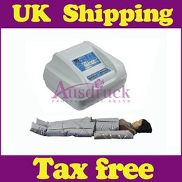Wholesale UK shipping V V AIR PRESSURE INFRARED SLIMMING PRESSOTHERAPY lymph drainage heat therapy massage detox weight loss beauty machine