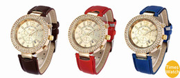 diamand Watches women Dress Watches Quartz Christmas gift Hours standard quality leather watch