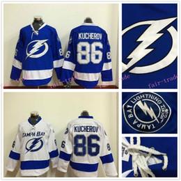 Wholesale Nikita Kucherov Jersey Tampa Bay Lightning Hockey Jersey Home Blue With Nikita Kucherov Hockey Jersey Ice Hockey Jersey