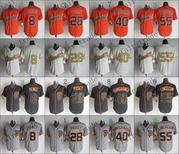 Wholesale san francisco giants hunter pence buster posey Baseball Jersey Cheap Rugby Jerseys Authentic Stitched Size