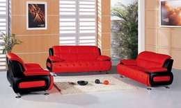 Wholesale Italy Desgin genuine leather sofa Sectional Set love seat Sofa armchair in the living room L606