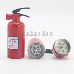 Wholesale Smoking Dogo New Arrival Magnetic Layers Fire Extinguisher Herb Grinders Height cm Diameter cm
