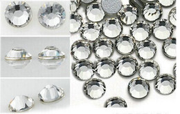 Wholesale BAG ONE BAG CONTAIN GROSS CRYSTAL RHINESTONES FOR NAIL ART DECORATION WITH FREE SHIP