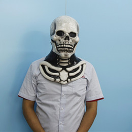 Wholesale-X-MERRY ADULTS High Quality Horror Adult  Mask Novelty Halloween Latex Mask