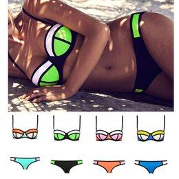 Wholesale 2015 Newest Super Women Sexy Bikini Swimwear Triangle Fashion Swimsuit Set Push Up Beachwear Color