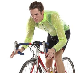 2017 vélo vélo veste de manteau de pluie Transparent Soft Multifunction Bicycle Raincoat Jersey Manteau de poussière Veste cycliste / Manteau pluie Couche-vent À l'épreuve de l'eau vélo vélo veste de manteau de pluie sortie
