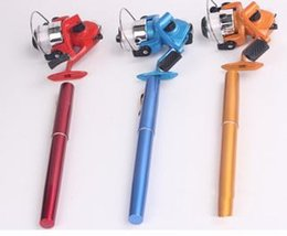 HOT pocket fishing Rod Mini Rods Pen fishing Rods Only20cm Spinning Baitcasting Reels put in your pocket High-quality! YWGD