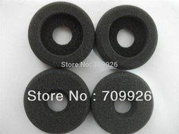Wholesale mm Donut Headphone replacement foam sponge pads Call center headphone ear pads by mail