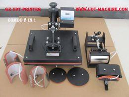 Wholesale Free Freight in1 Advanced Sublimation Machine Design New BOYI Mug Cap T Shirt Heat Press Heat Transfer Machine Combo Heat Press