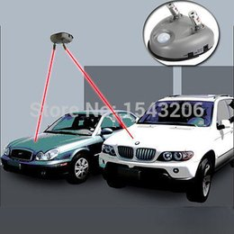 Wholesale car Automatic Garage dual Laser Parking Garage System Double Guide Helper Park Tool small order no tracking