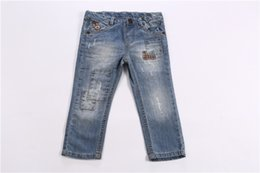 Wholesale Children s Boys Jeans Blue Keep Warm Home Outdoor The Patch Elegant Christmas Spring Autumn Health Best Gift