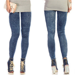 Wholesale Skinny Jeggings Wholesale - Hot Sales Newest Arrivals Sexy New Women Jean Skinny Jeggings Stretchy Slim Leggings Fashion Skinny Pants KX45 Free Shipping