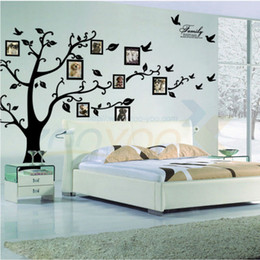 photo tree frame family forever memory tree wall decal Wall Sticker94ABS decorative adesivo de parede removable pvc wall sticker